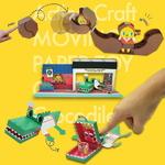 [움직이는 종이접기 - 입체 종이접기] 액션크래프트 악어와 병아리 2종 세트