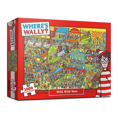 (알록퍼즐)1000피스 월리를 찾아라 거칠고 황량한 서부 직소퍼즐 AL3308