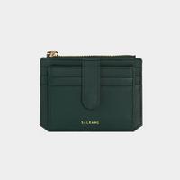 Dijon 301S Flap Card Wallet olive green