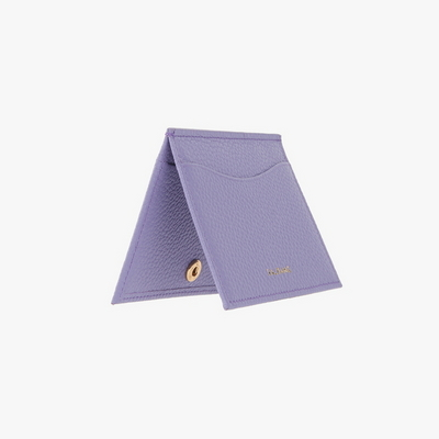 REIMS W018 Roof Mini Card Wallet Lilac
