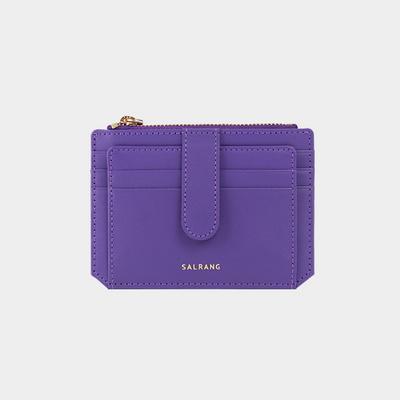 Dijon 301S Flap mini Card Wallet mystery purple
