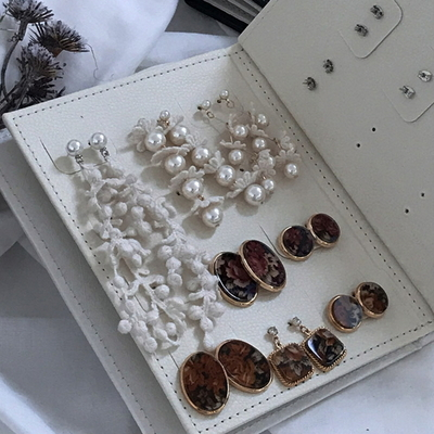 디자인 주얼리보관함 귀걸이북