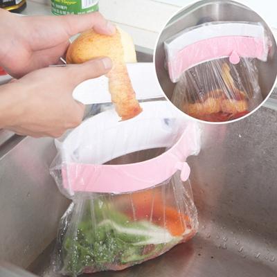 음식물쓰레기통 매직홀더