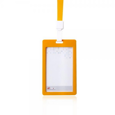 VIC_6612-레인보우ID명찰(세로)7개입 오렌지(끈포함)