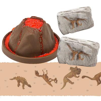 공룡시대 체험키트 - 화산체험 + 화석체험
