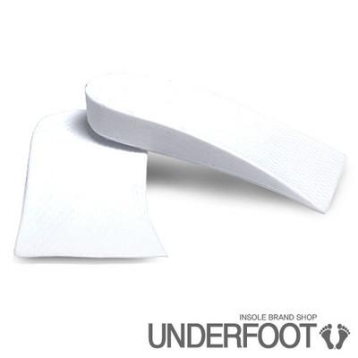 UNDERFOOT 언더풋 고급 1단뒷굽 키높이깔창 화이트