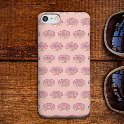 [갤럭시] 도넛 패턴 로즈쿼츠 S1157I 슬라이더 케이스