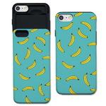 [애플] 바나나 패턴 민트 S1042G 슬라이더 케이스