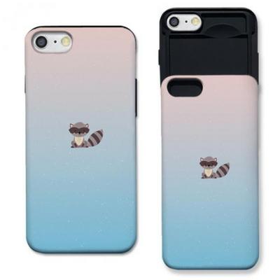 아이폰6 마스크 너구리 세레로즈 슬라이더