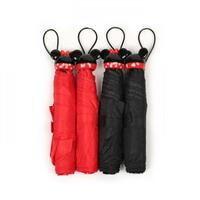아이콘 핸들 접이식 우산(미키,미니)