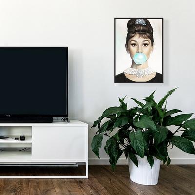 팝아트 풍선 액자 오드리햅번 마릴린 먼로 (30x40)