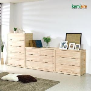 편백나무 서랍장세트 KMD-205