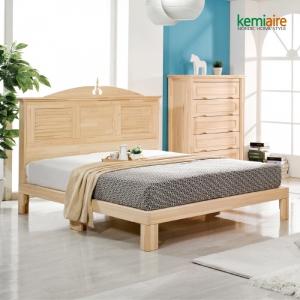 프리미엄 편백나무원목 침대프레임 CMD-101F