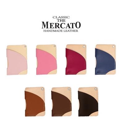 메르카토-비대칭목걸이지갑만들기 가죽공예DIY