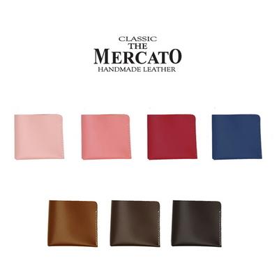 메르카토 - 덮개형 반지갑만들기 가죽공예DIY