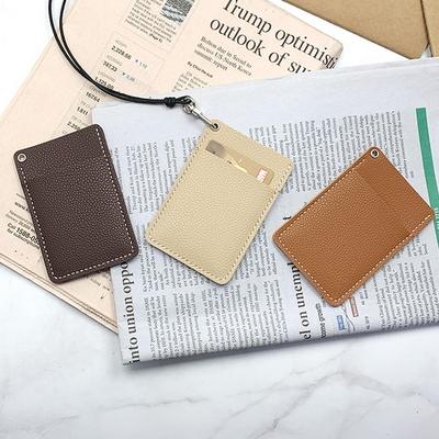 가죽 목걸이 카드 지갑 만들기 가죽공예 교육용 체험 이니셜 각인 무료