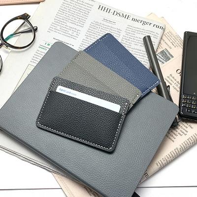 가로 카드 지갑 만들기 가죽공예 교육용 체험 이니셜 각인 무료