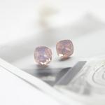 M0506-1 핑크오팔 스와로브스키 크리스탈 귀걸이