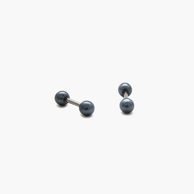 제이로렌 M01546 라운드모양의 흑진주 피어싱