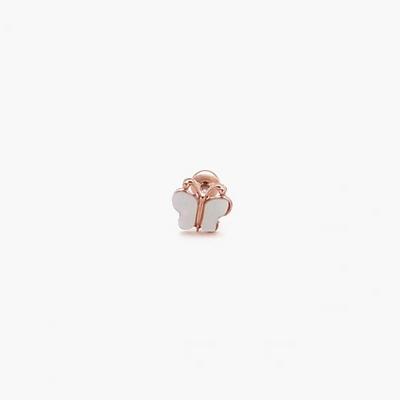 제이로렌 M01967 나비모양 자개 써지컬스틸 피어싱