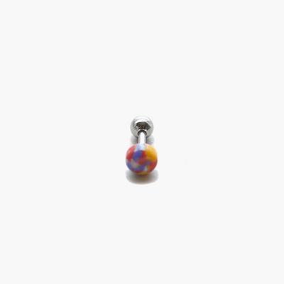 제이로렌 M02058 아게이트 원석 써지컬스틸 피어싱