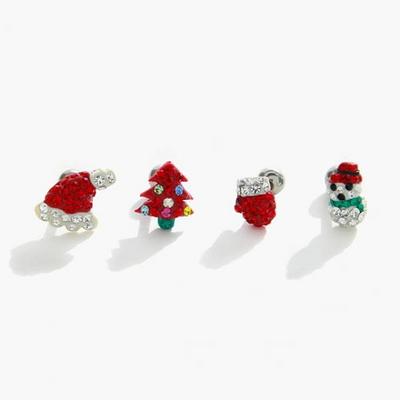 제이로렌 M02289 크리스마스 피어싱 모음 (4종 택1)