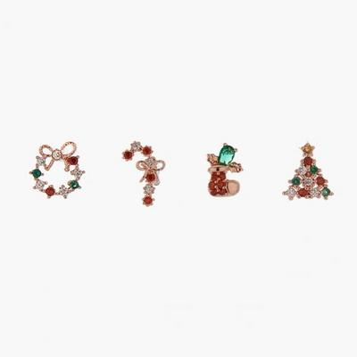 제이로렌 P0335 크리스마스 시리즈 피어싱 모음