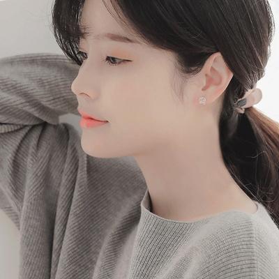제이로렌 9M02959 장미수정 레몬쿼츠 원석귀걸이