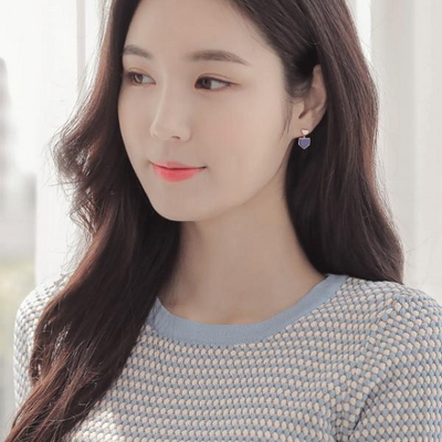 제이로렌 9M02653 12월탄생석 라피스라줄리귀걸이