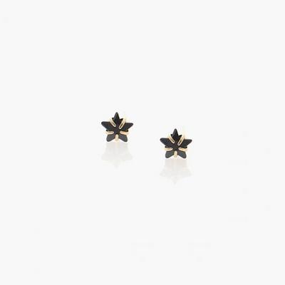 제이로렌 91G0109 큐빅 눈꽃별 나무 14K 귀걸이