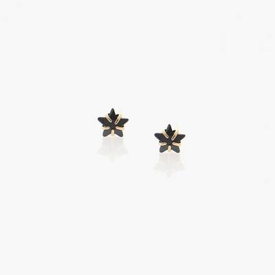 제이로렌 93G0109 큐빅 눈꽃별 나무 14K 귀걸이