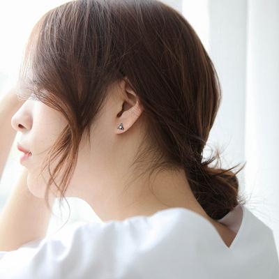 제이로렌 SM077 플라워 마카사이트 담수진주 귀걸이