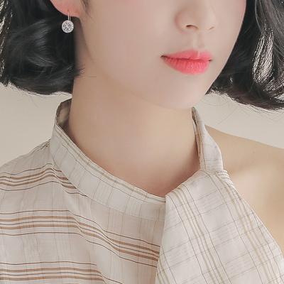 제이로렌 0G0152 14K 큐빅펜던트 클립 귀걸이