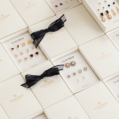 제이로렌 0M07000 로즈골드 5종세트 귀걸이세트
