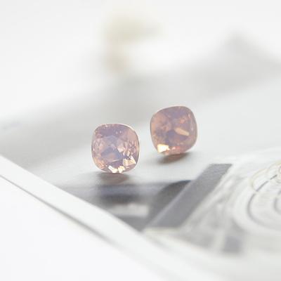 제이로렌 0M0506-1 핑크오팔 스와로브스키 귀걸이