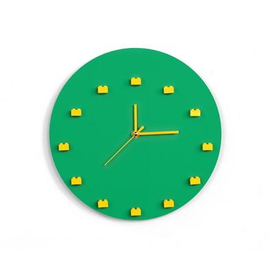 레고 미니피규어 DIY 벽시계 (Green)