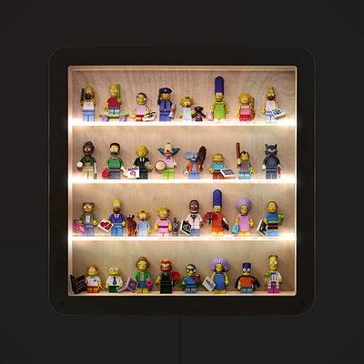 미니피규어 소형 장식장 Light Edition