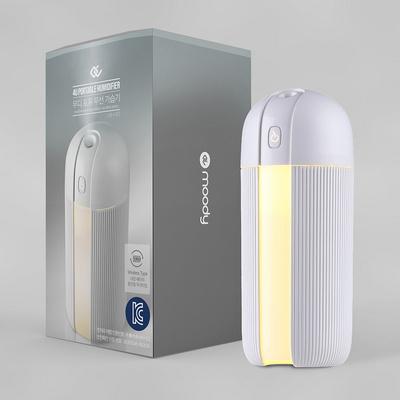 무디 포유 LED 무드등 휴대용 무선 가습기
