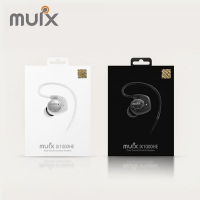 아이사운드 듀얼사운드 컨트롤시스템 이어폰 muix IX1000HE+파우치 증정