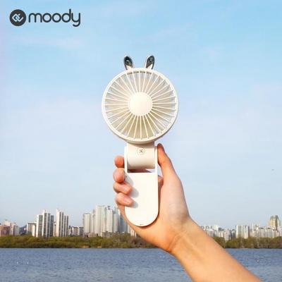 1+1 무디 폴더블 휴대용선풍기 탁상용 미니선풍기