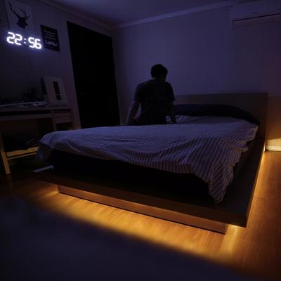 LED 침대하부 프레임용 센서조명 데이홈 라인듀 S6