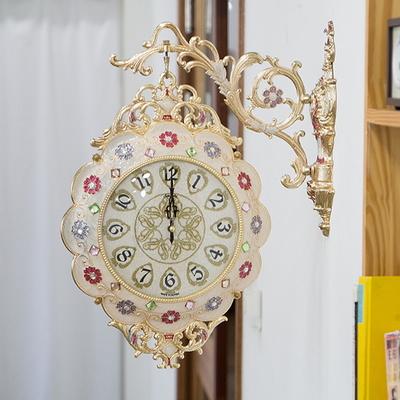 꽃이파리 양면시계 SUN-283
