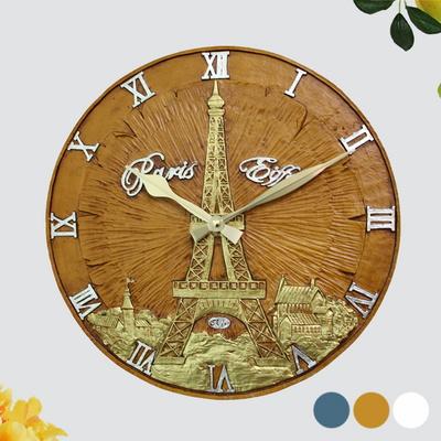 원형에펠탑(대) 마블벽시계 SUN-538