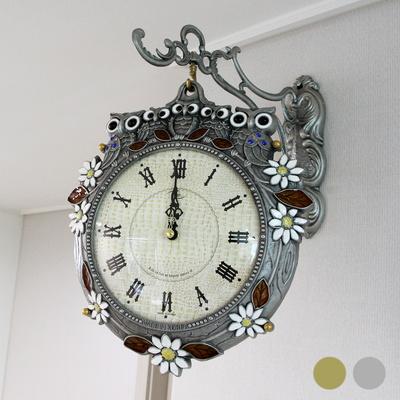 썬리치 가족부엉이 양면시계 SUN-291