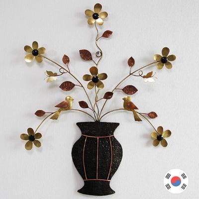 행복 꽃정원 동공예품 화병 벽장식품 SDW-701