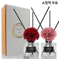 레스쁘리 로즈팝 더블 카네이션 디퓨저50ml Gift Set