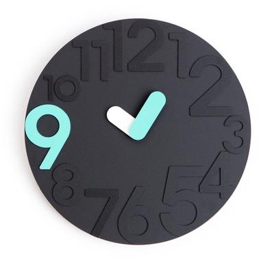 블랙 포인트 9  무소음 벽시계 (No-noise wall clock)