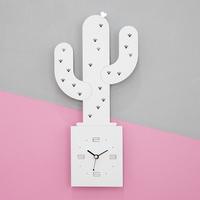Hooray Cactus 무소음 벽시계