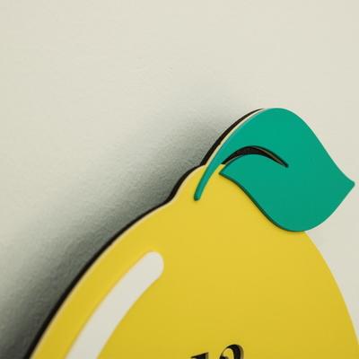 I am Lemon 무소음 벽시계