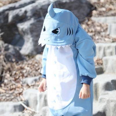 사계절용동물잠옷-키즈 상어